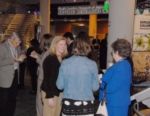 A legislative reception was held at the Nature Research Center.