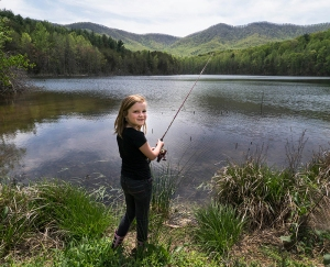 Fishing, hiking, picnicking and canoeing are possible on the Clear Creek watershed property.