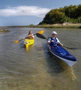 The 2013 Crystal Coast Paddle Festival will include some kayak tours of Hammocks Beach State Park .