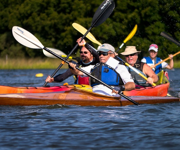 The Mullet Cup has been a kayak race tradition in Swansboro.