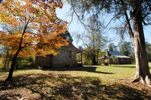 The Kron House at Morrow Mountain State Park is one of many historic interpretive sites in the state parks system.