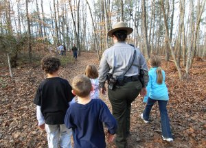 First Day Hikes has become a family-oriented tradition in all the NC state parks.