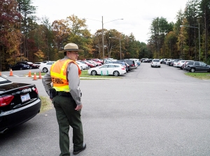 Crowders Mountain State Park added a parking area at its visitor center which fills on most weekends.