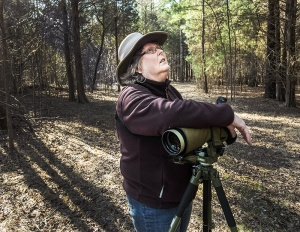 Tatum took over birding programs from former Ranger Scott Hartley, who has since retired from the state parks system.