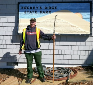 Neiderlander has given more than 4,000 hours of volunteer service to Jockey's Ridge State Park.