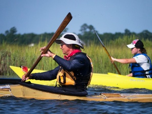 An FSP grant helps stage a paddle festival at Hammocks Beach.