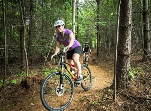 Lake James State Park opened 15 miles of mountain biking trails.