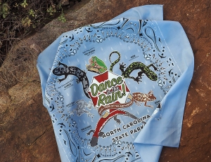 The fifth specially designed bandana celebrating an annual nature theme.