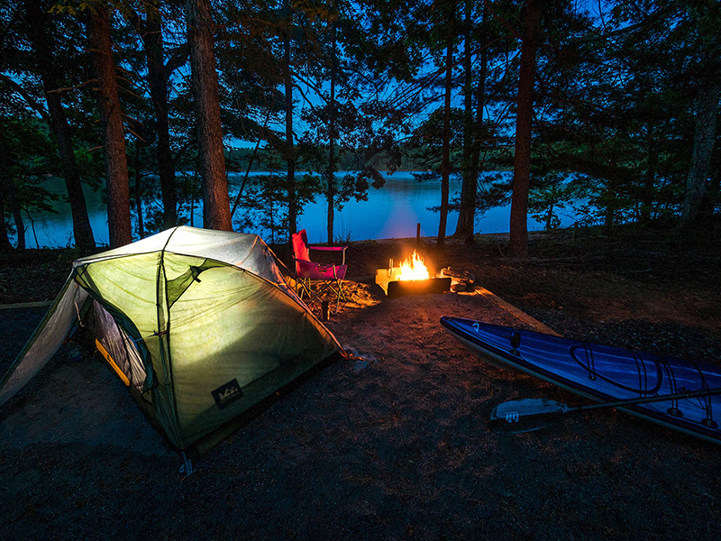 Lake James State Park introduces boat-in camping experience – North  Carolina State Parks