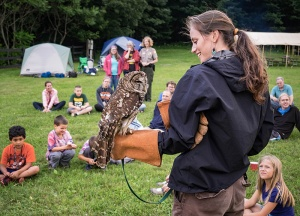 Naturalist from Grandfather Mountain Stewardship Foundation presents a program on owls.