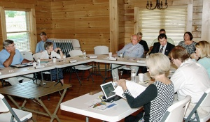 NC Parks and Recreation Trust Fund met at the N.C. Zoological Park.