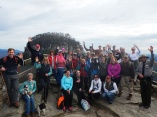 New Year's Day at Pilot Mountain State Park.