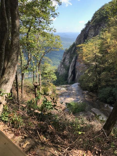 Hickory Nut Gorge Falls