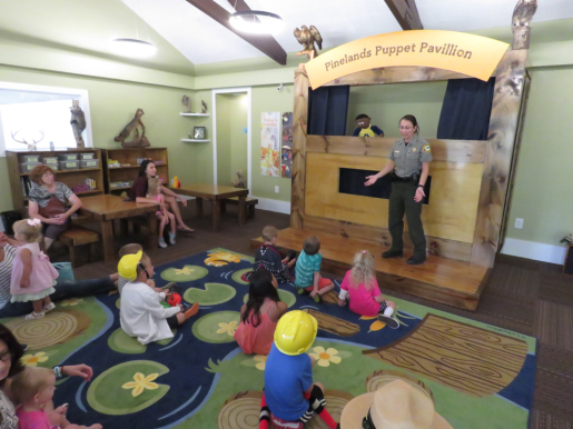 Discovery Room Puppet Theater