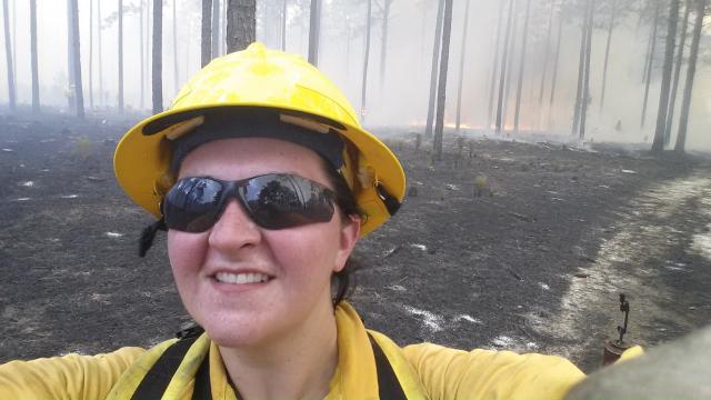 Bowers Prescribed Fire Photo