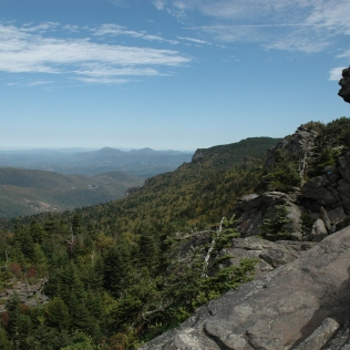 McRae Peak area, Grandfather Mountain State Park
